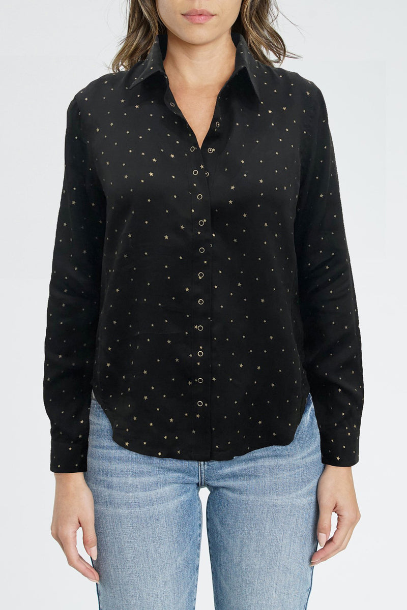 Ellia Long Sleeve Button Up Shirt - Vega Star