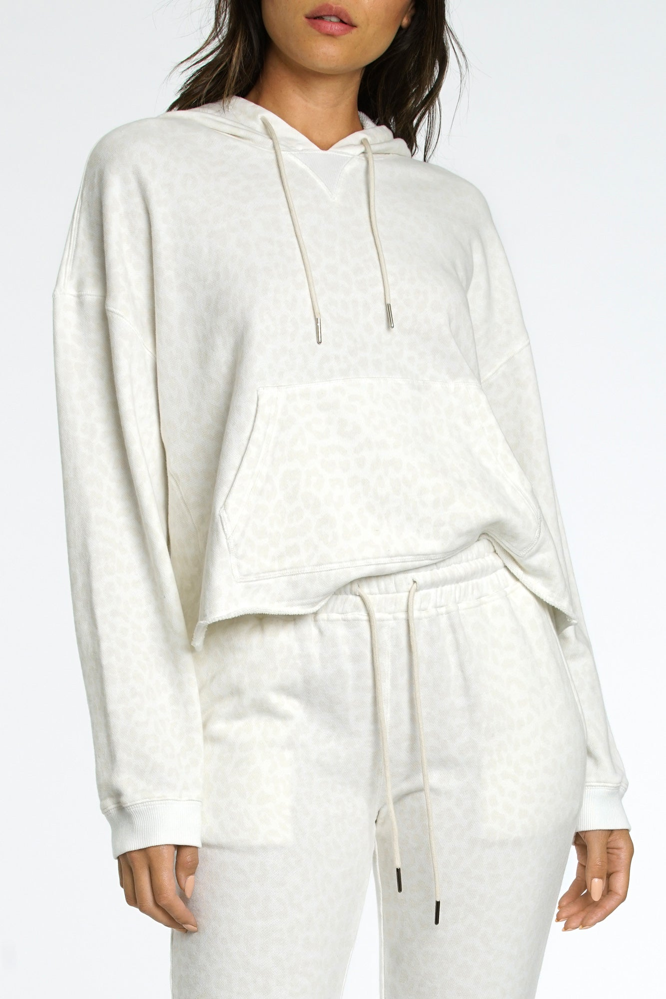 Maxime Hooded Sweatshirt - Wild Cat