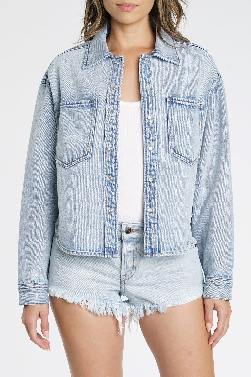 Andrea Square Shoulder Jacket - Montreal