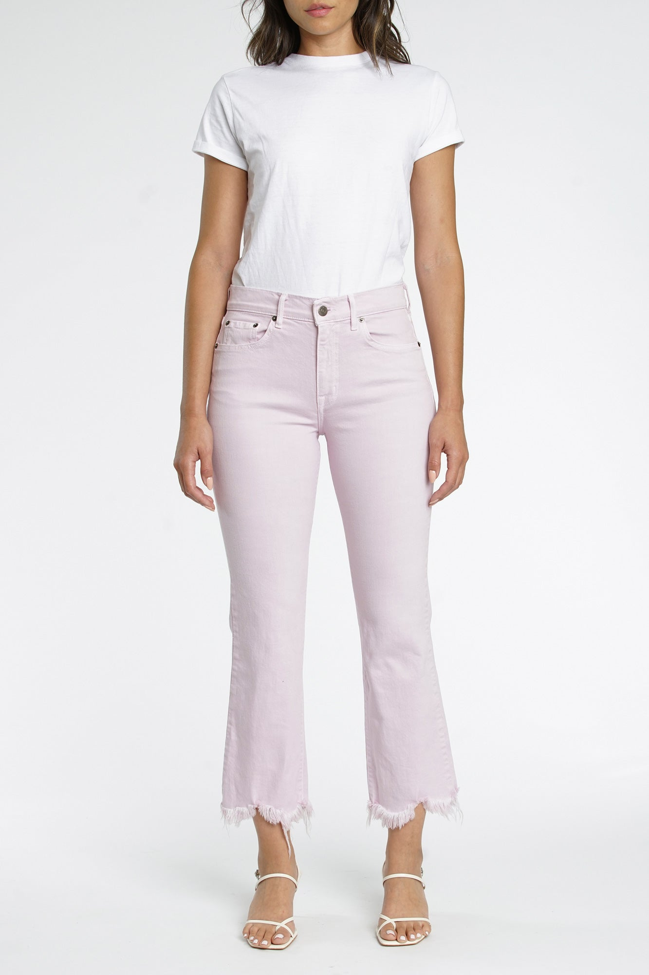 Lennon High Rise Crop Boot Cut - Melrose