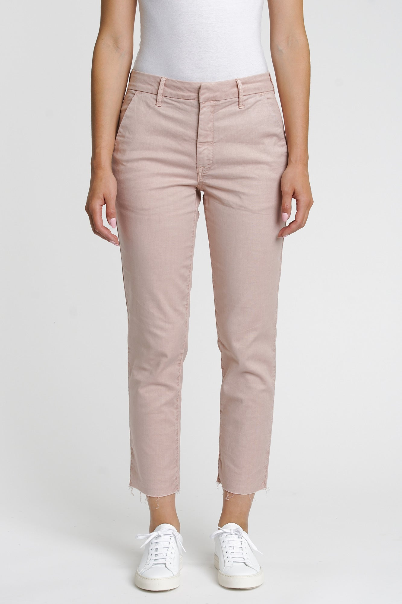 Luci Tencel Twill Chino - Vintage Pink