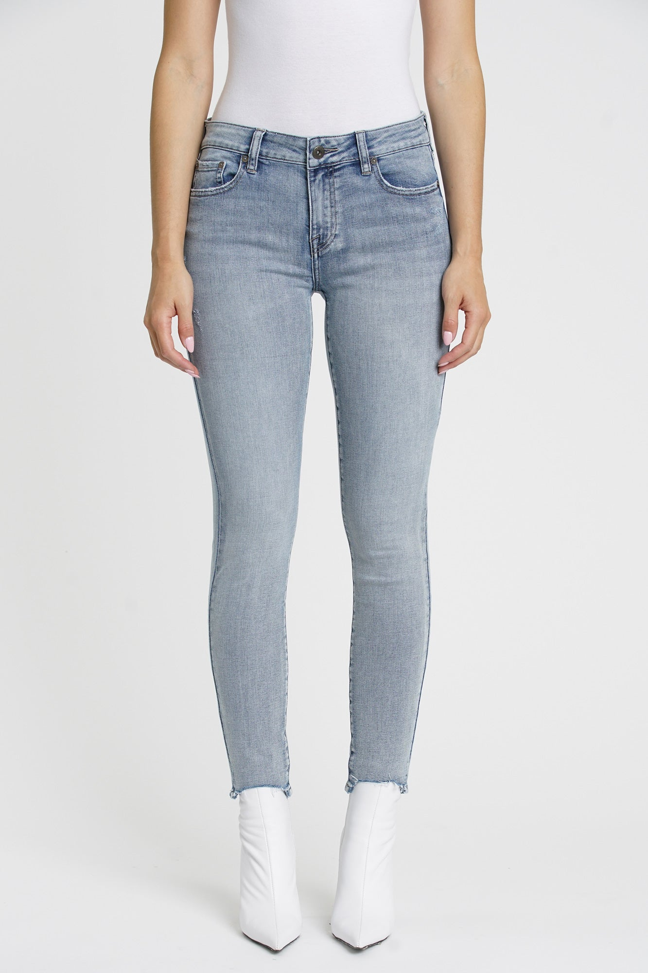 Audrey Mid Rise Skinny - Last Call