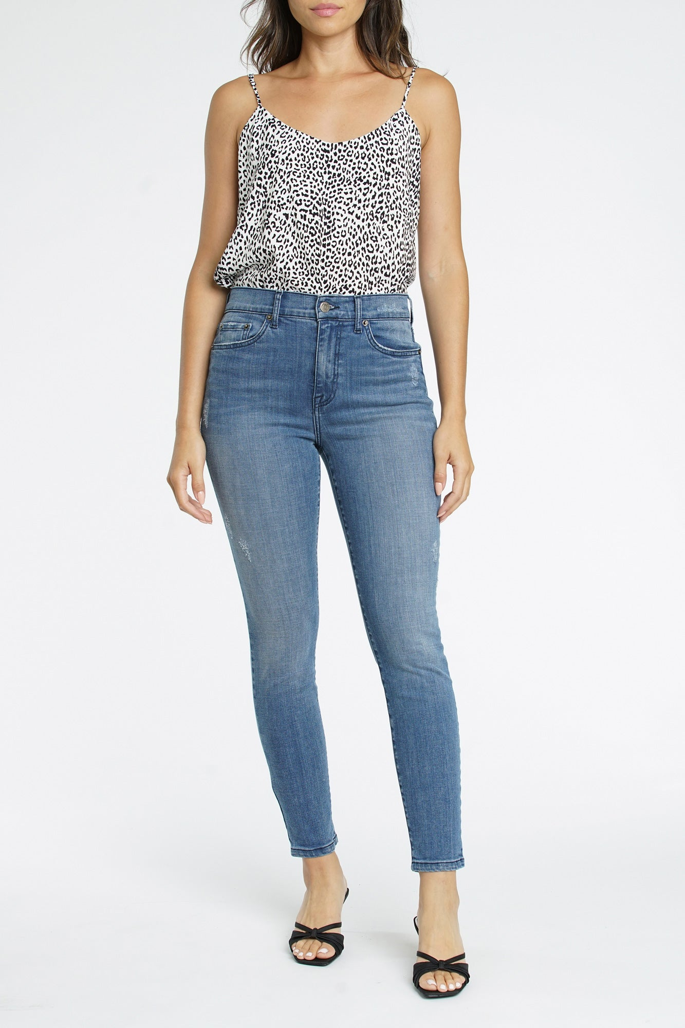 Aline High Rise Skinny - Tempest