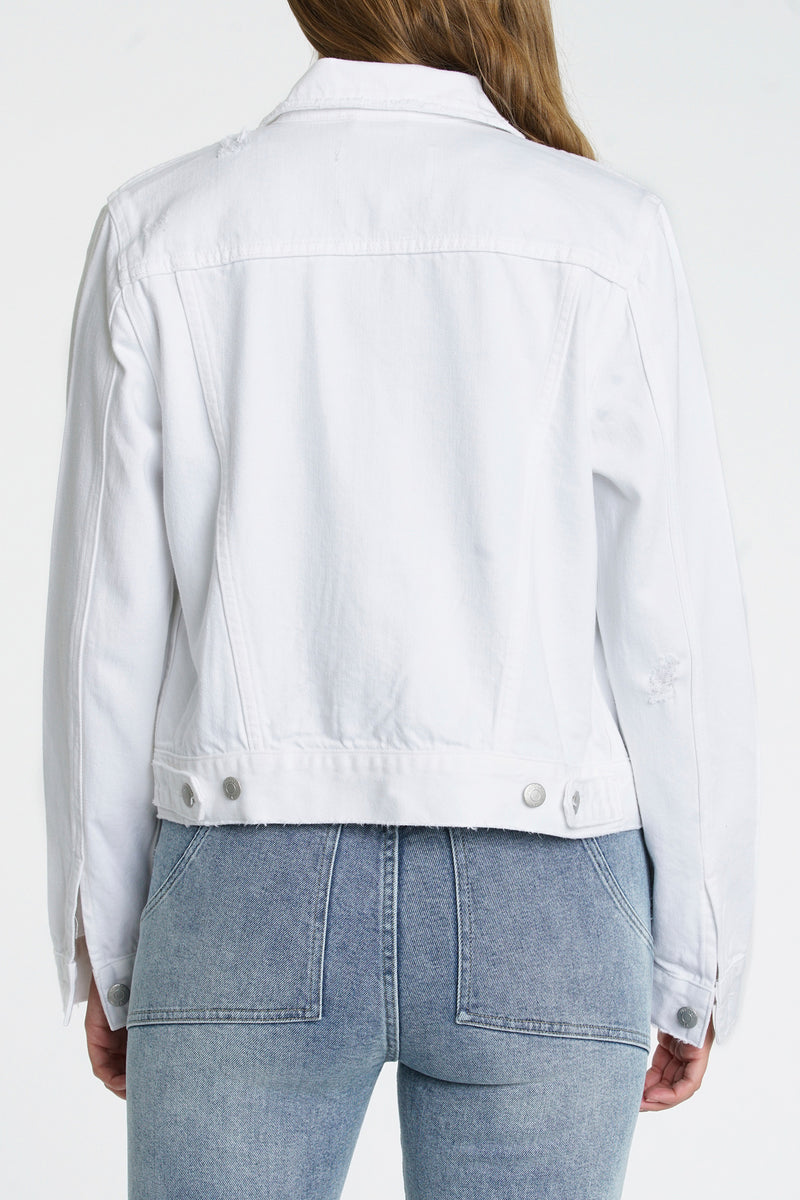 Saba Fitted Denim jacket - Blizzard
