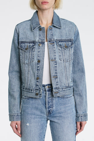 Saba Cropped Fitted Jacket - Wonders