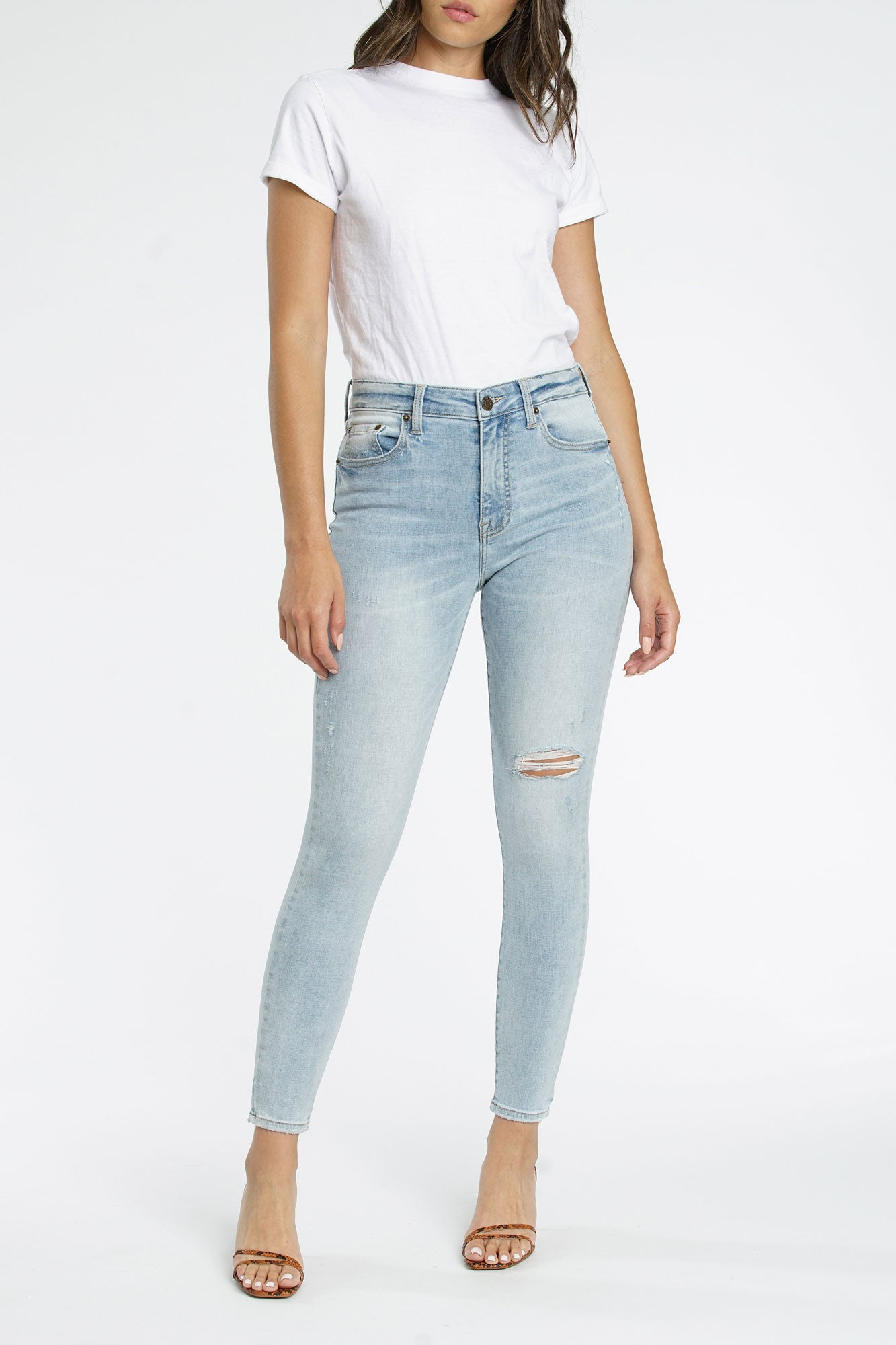 Aline High Rise Skinny - Seeker