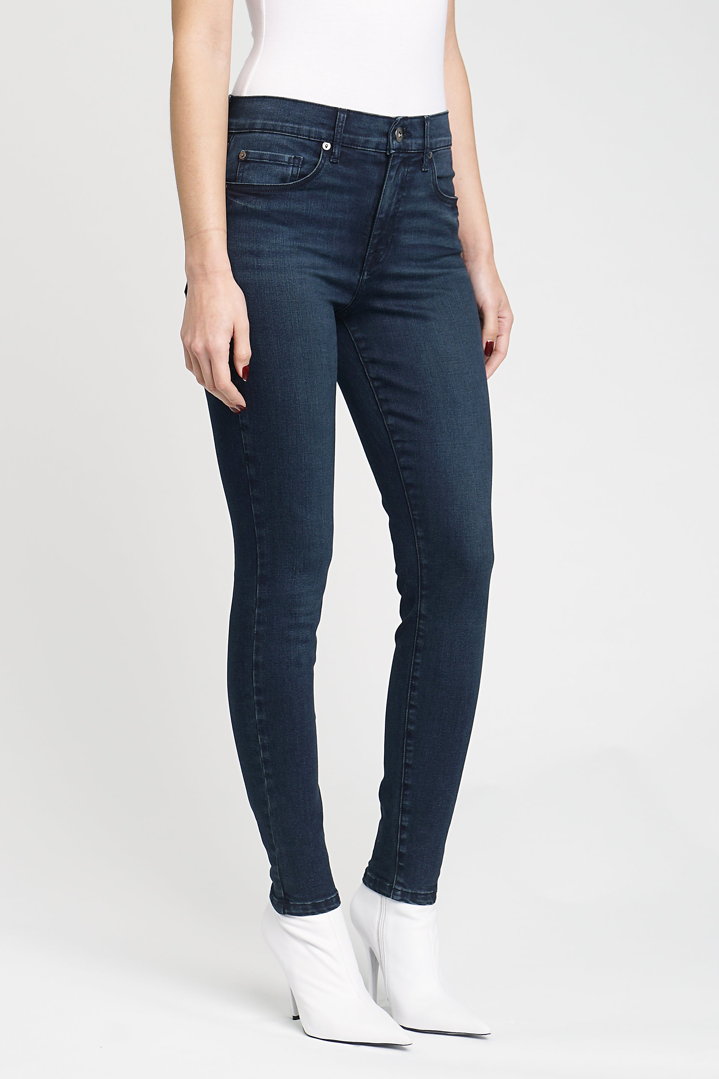 Aline High Rise Skinny - When In Rome
