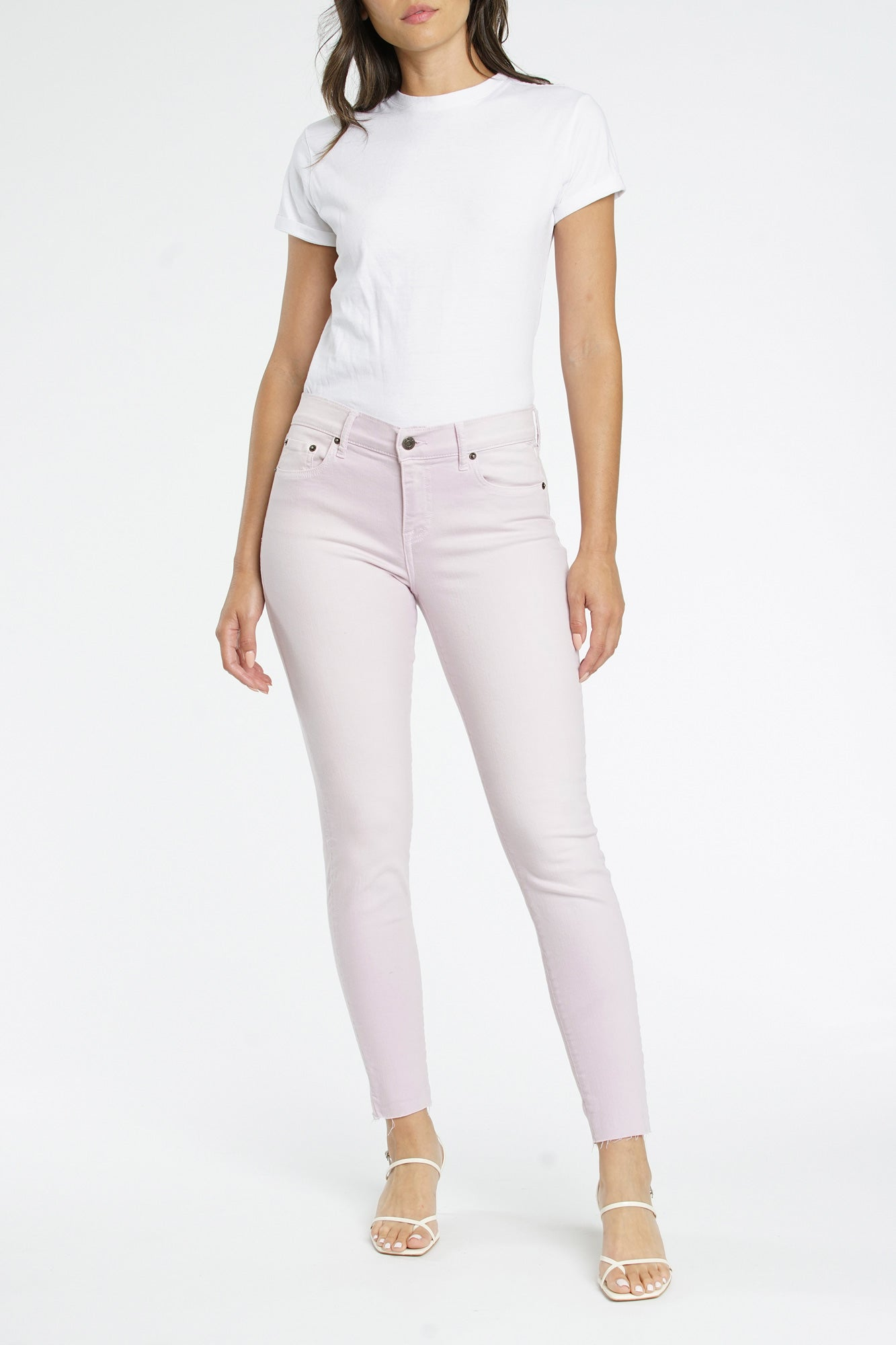 Audrey Mid Rise Skinny - Melrose
