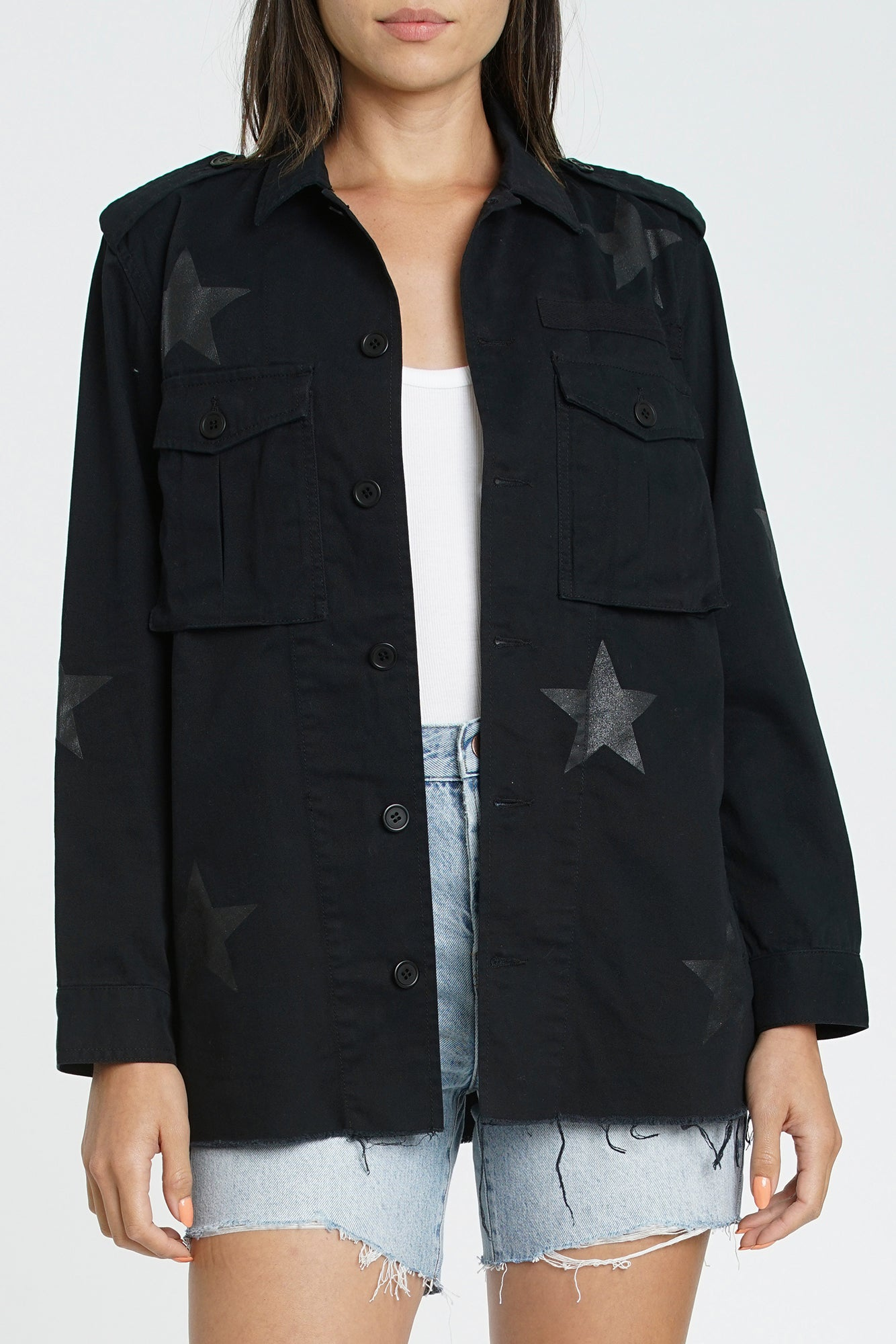 Camilo Military Jacket - Galaxy
