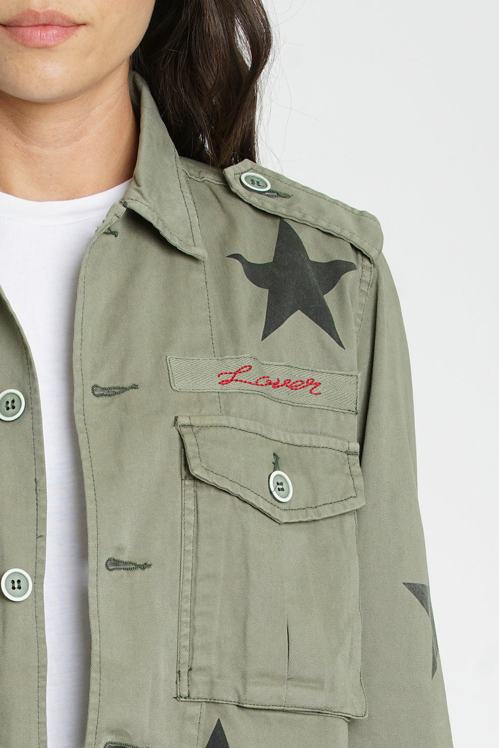 Camilo Military Jacket - Royal Honor Lover