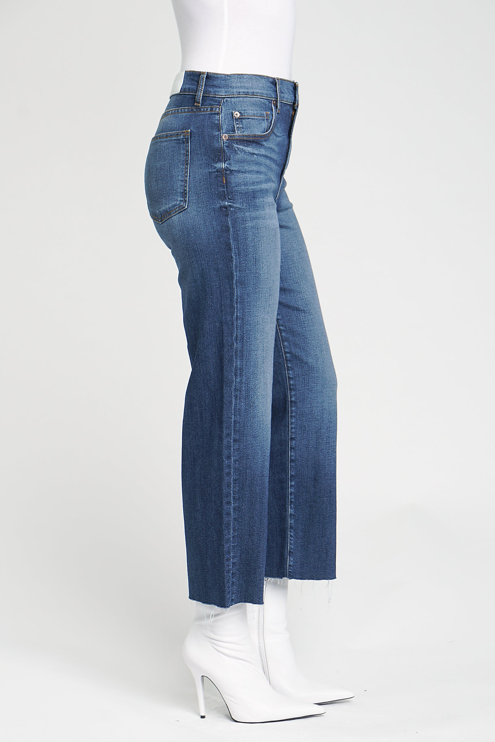 Cher High Rise Wide Leg Cropped - State Of Mind