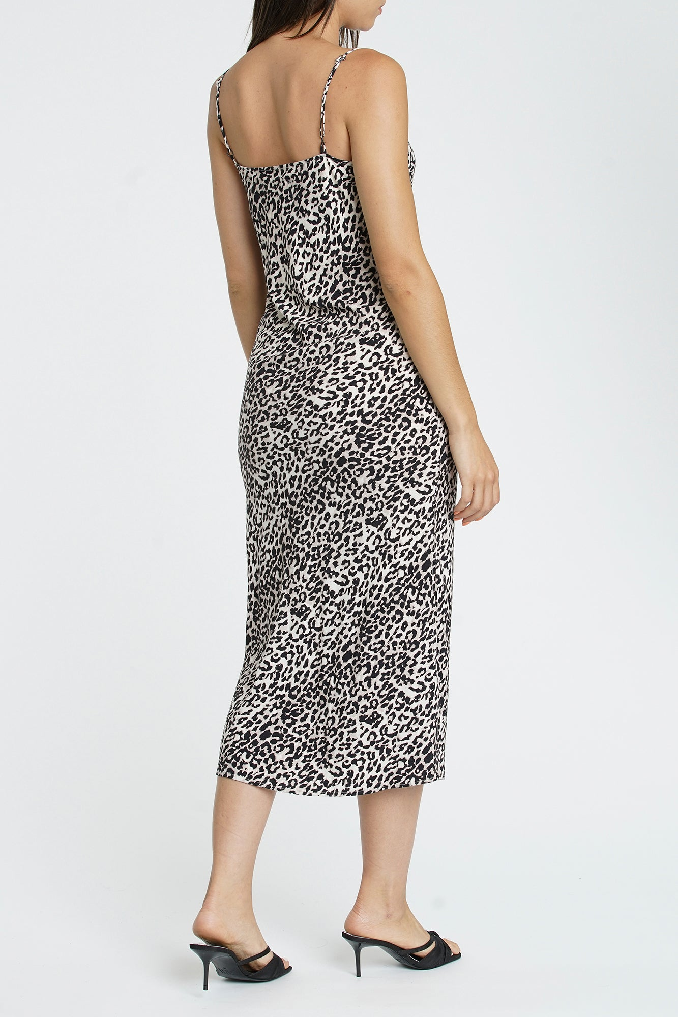 Mari Slip Dress With Side Slit - Sinai Wilder