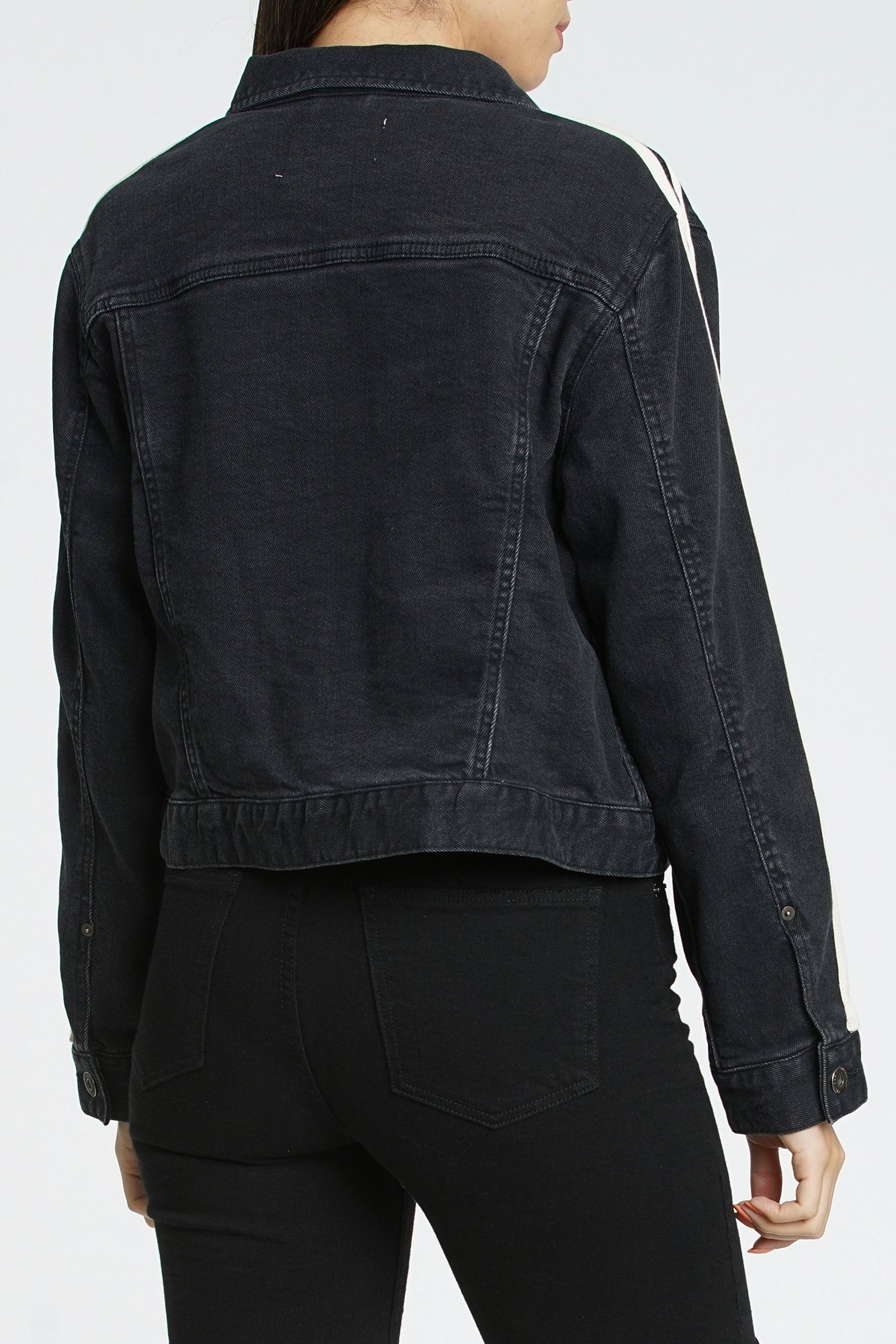 Naya Boyfriend Fit Denim Jacket - Berlin Night