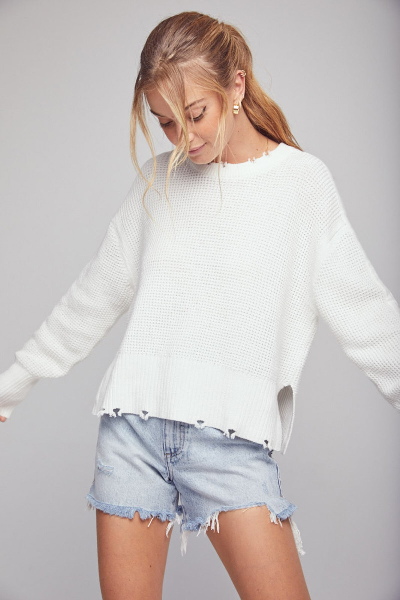 Olga Pullover Sweater - Infinity