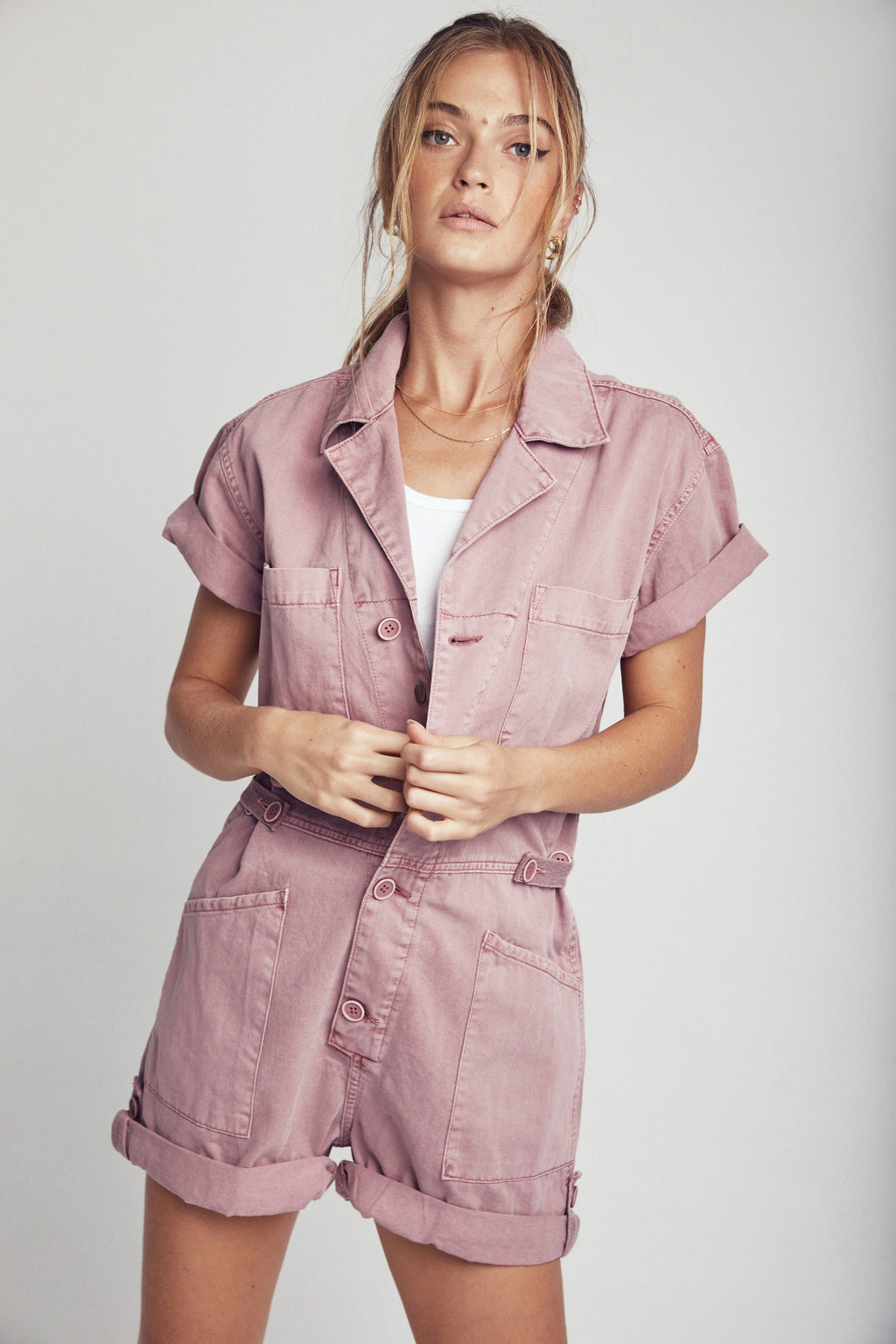 Parker Field Suit Short - Moss Rose
