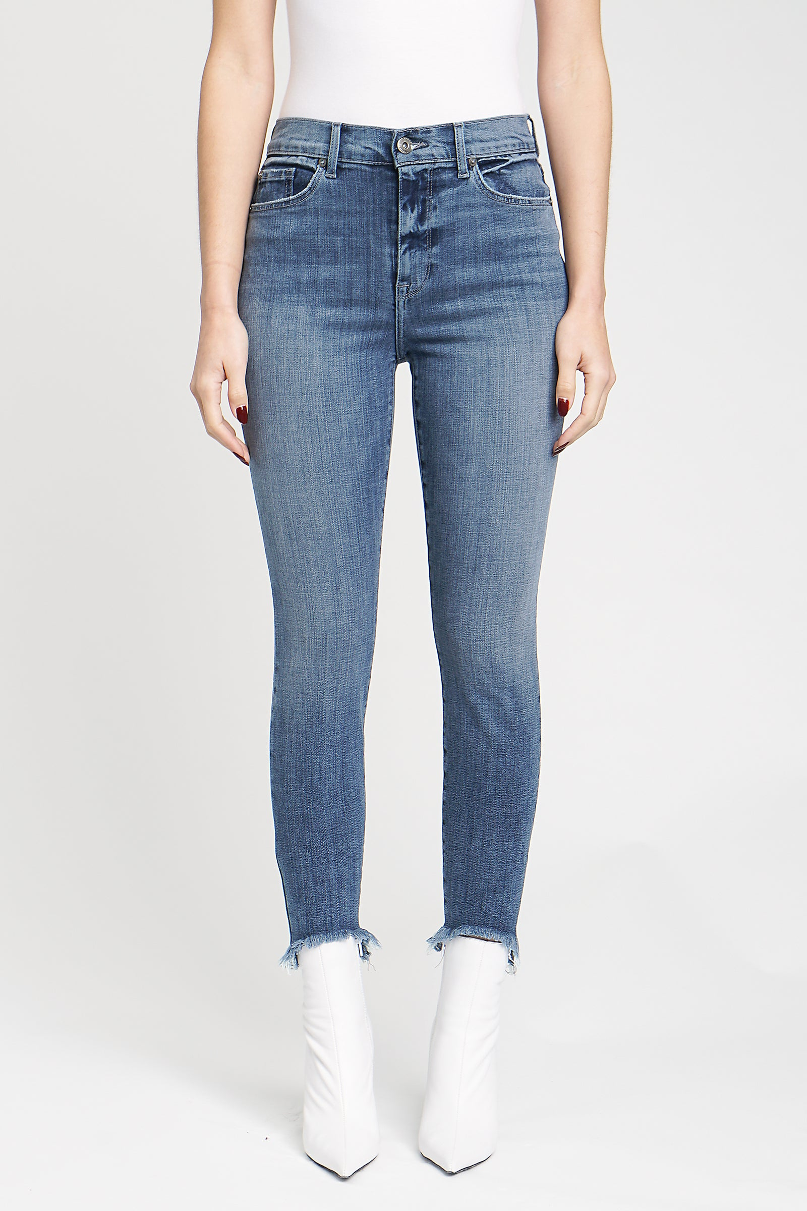 Aline High Rise Skinny - Venice Breeze