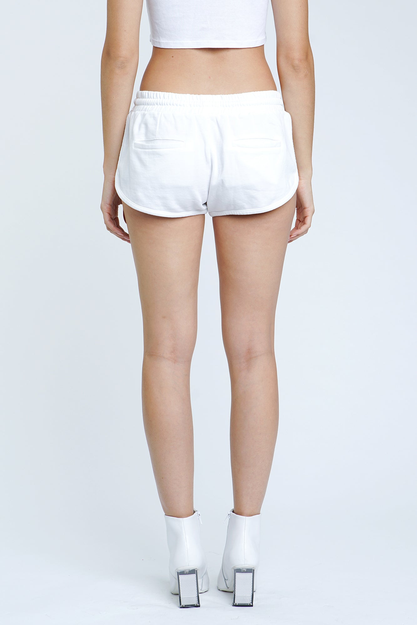 Ellie French Terry Track Short - Wish Bone