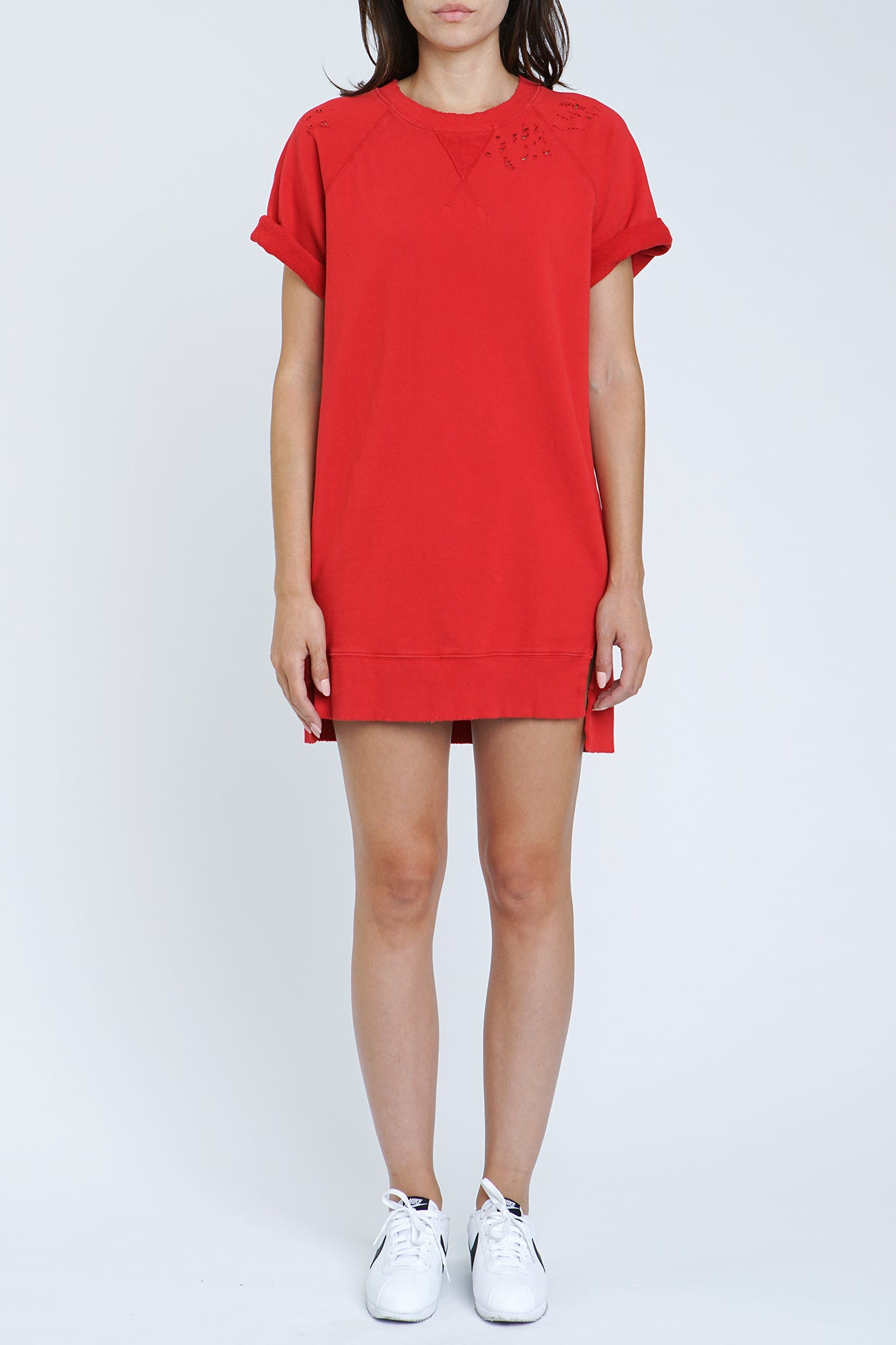 Quinn Dress - Red Light