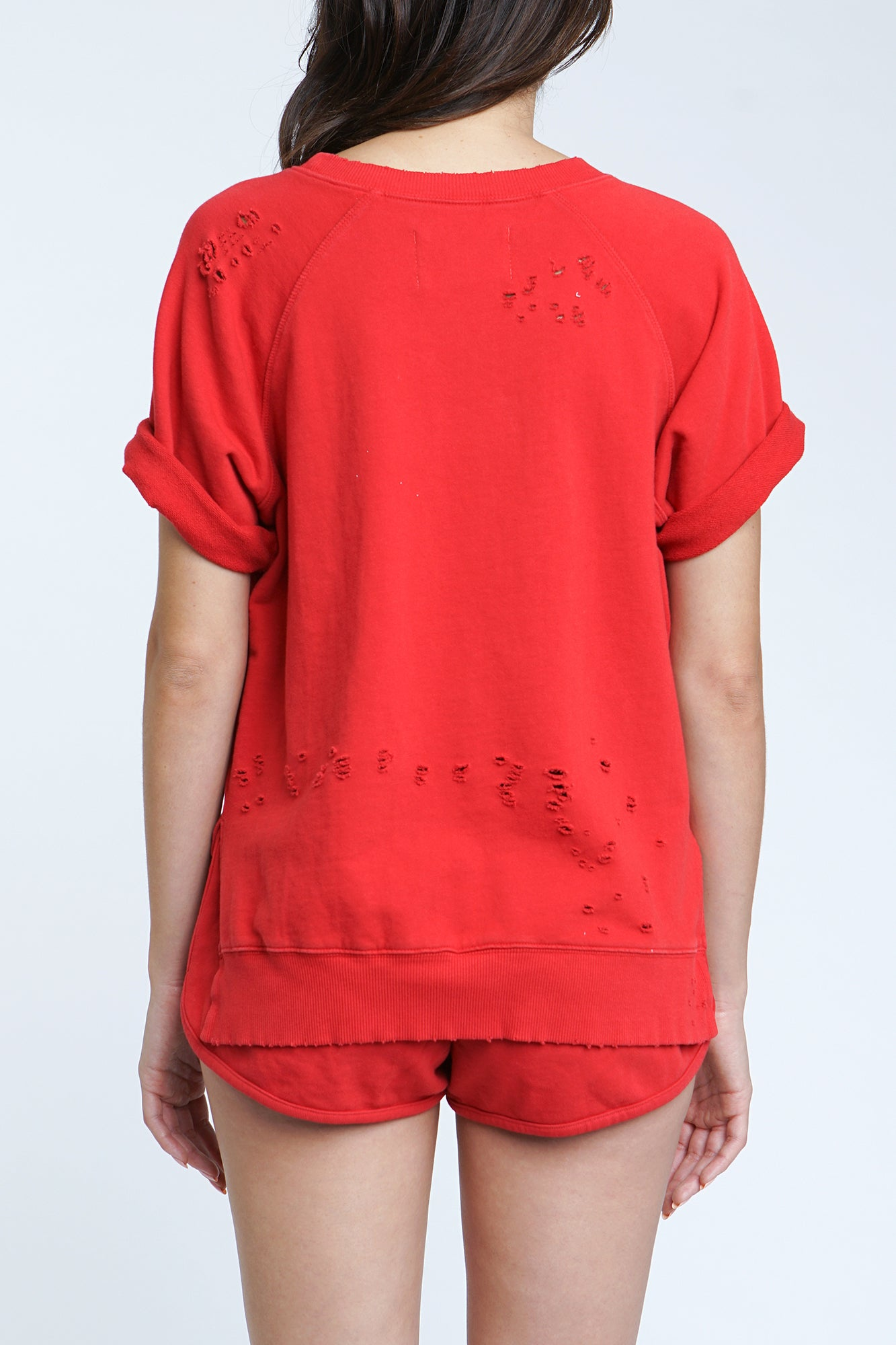 Raine Sweatshirt - Red Light