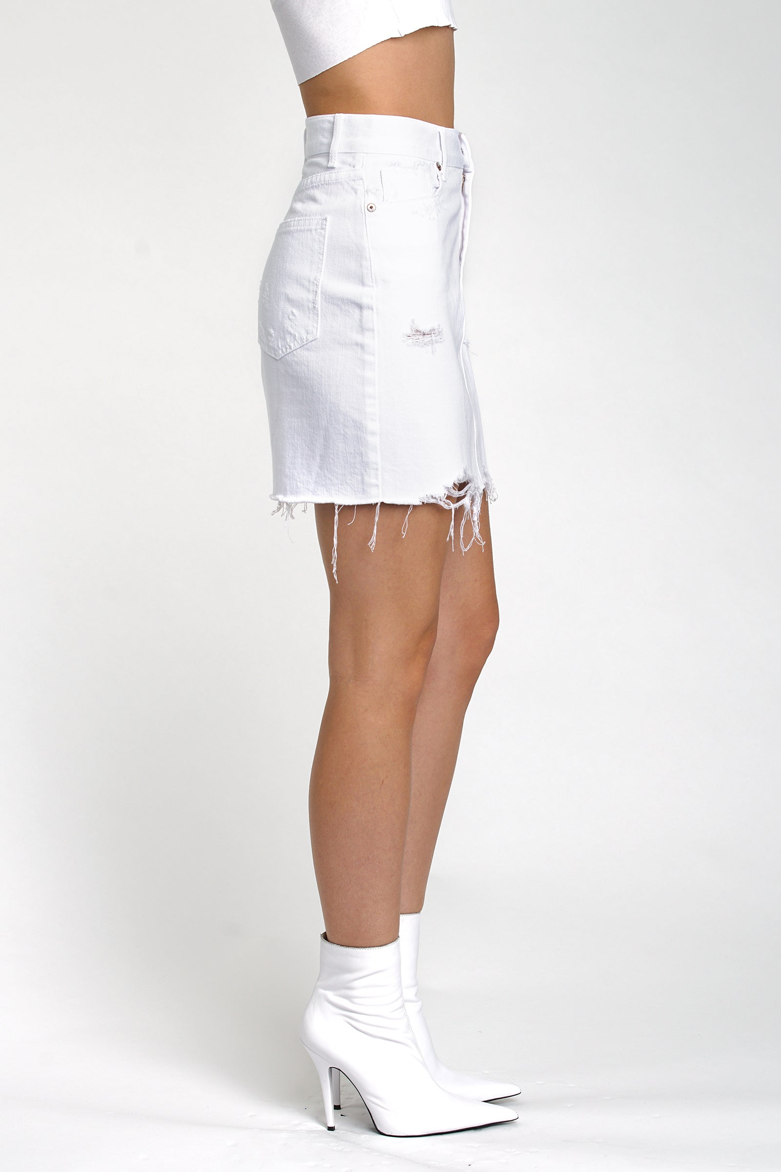 Sierra High Rise Pencil Skirt - Ice Breaker
