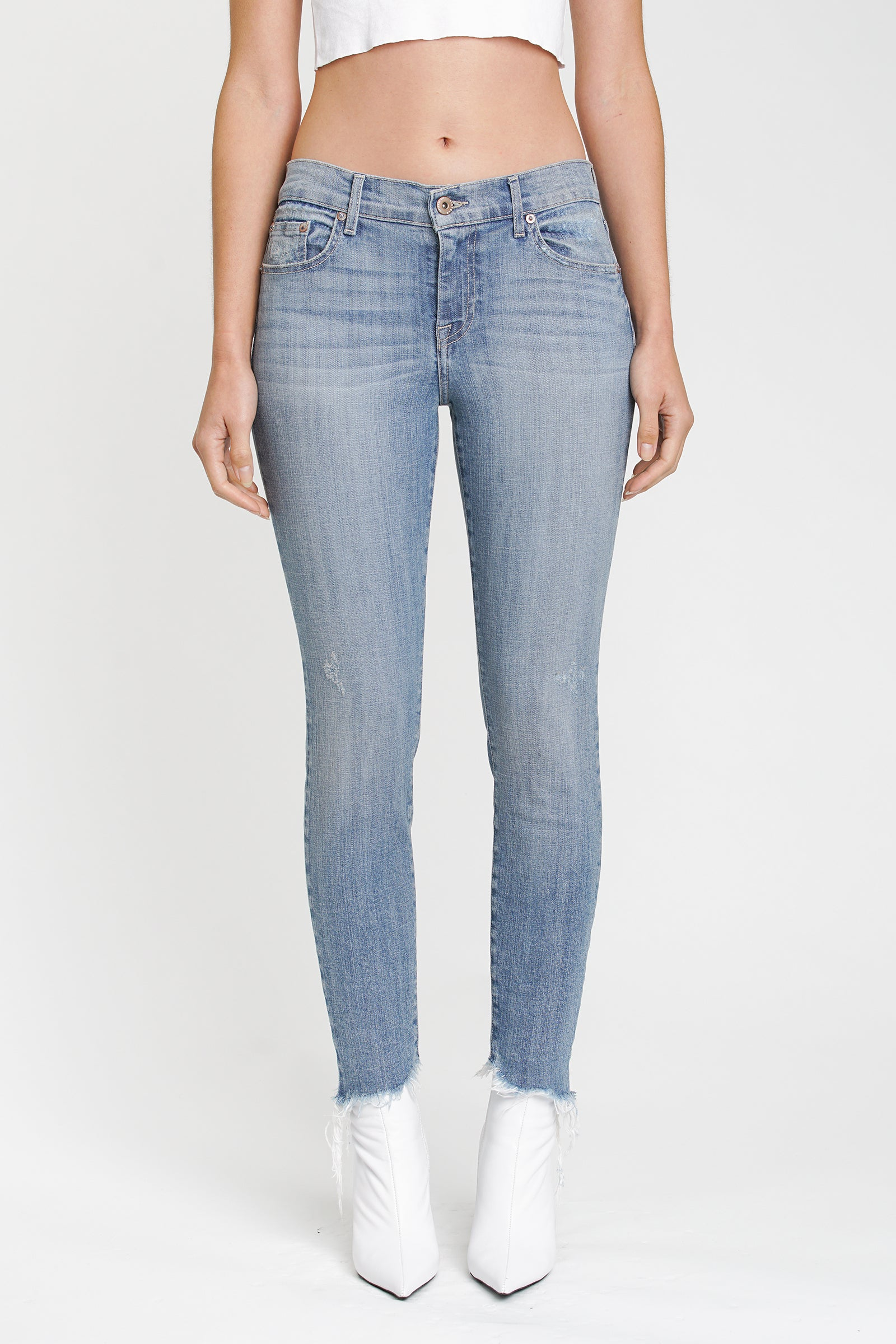 Audrey Mid Rise Skinny - Break Through