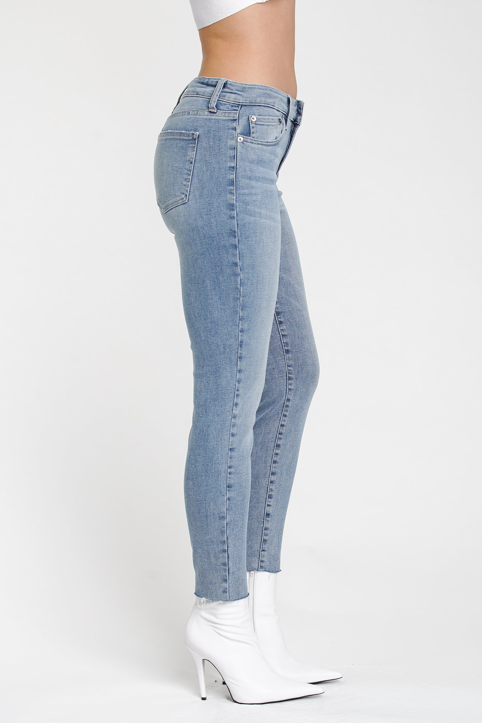 Audrey Mid Rise Skinny - Breezy