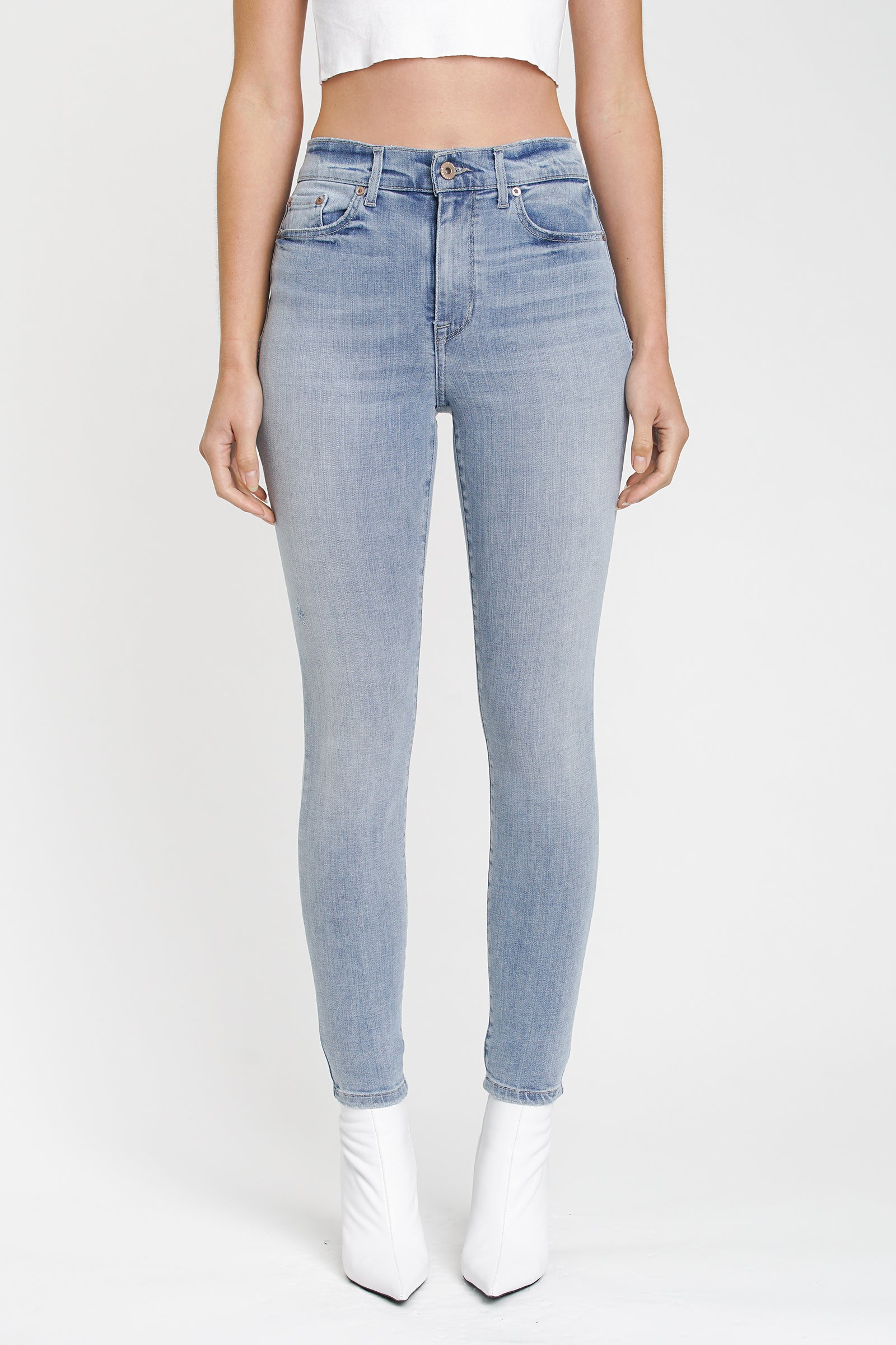 Aline High Rise Skinny - Waves