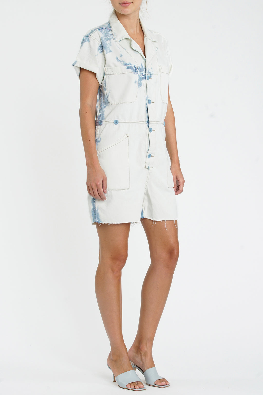 Parker Field Suit Short - Disoriented Tie Dye