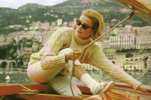 Aran Sweater Grace Kelly