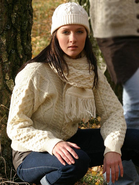 Irish Aran Sweater