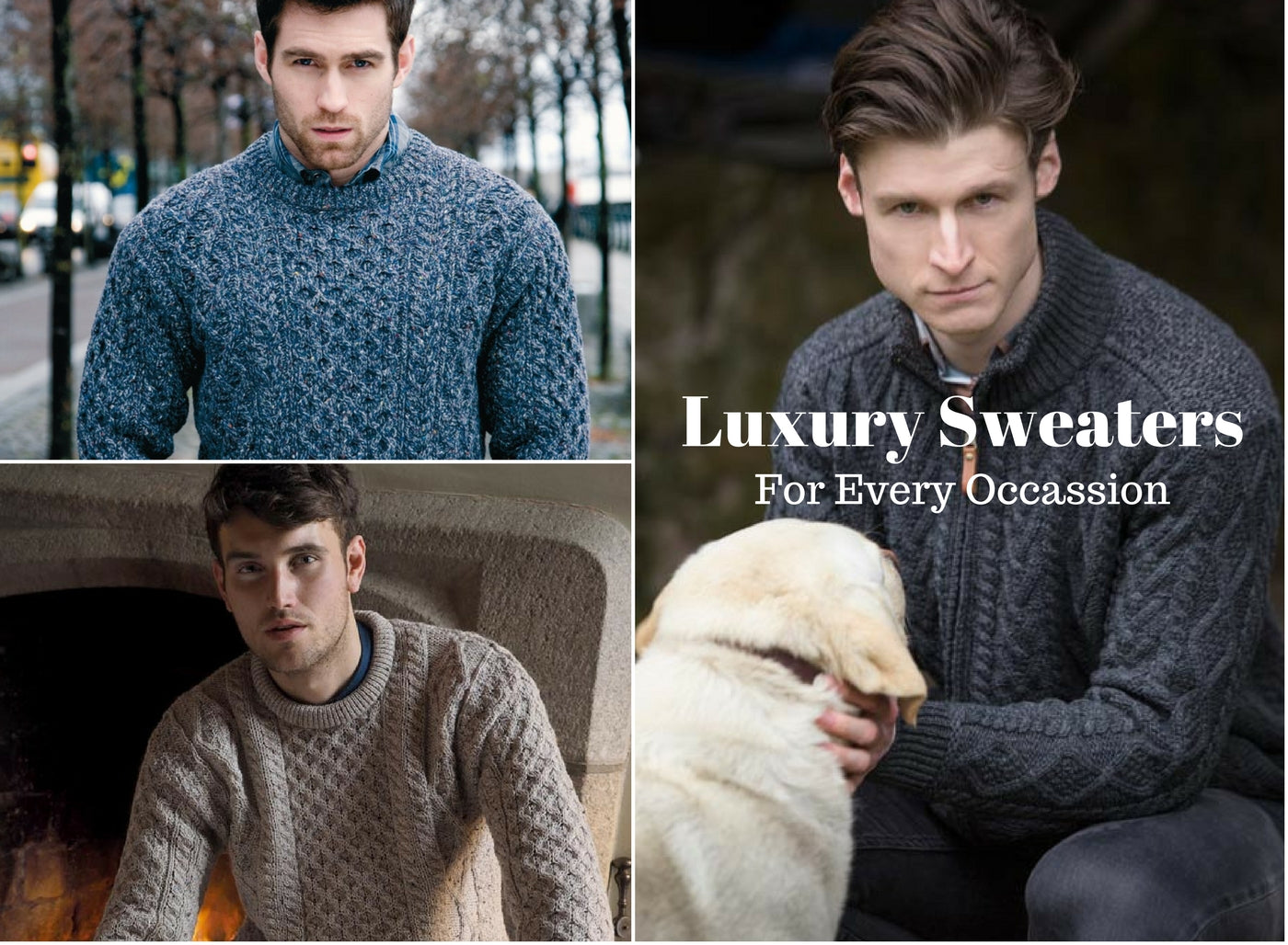Luxury Irish Aran Sweaters from Aran of Ireland