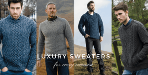 Arans of Ireland Luxury sweaters for every occasion