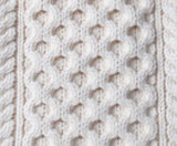 Aran Sweaters and the meaning behind the stitches