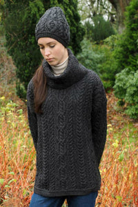 Irish Aran Baggy oversized Sweater