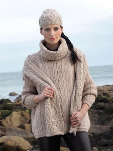 Baggy oversized Aran Sweater