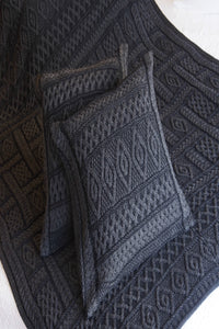 Luxury Aran plated Throw