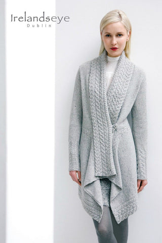 Luxury Aran Clonara Coatigan with Cashmere