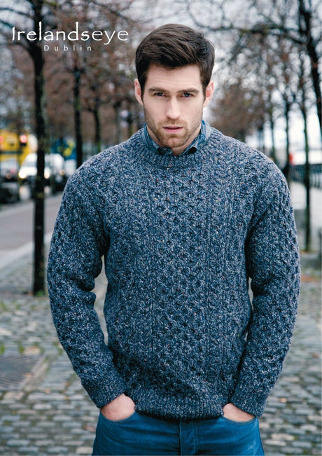 Luxury Aran Sweater with Cashmere
