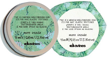 Davines Medium Hold Finishing Gum Fabric Hair Store