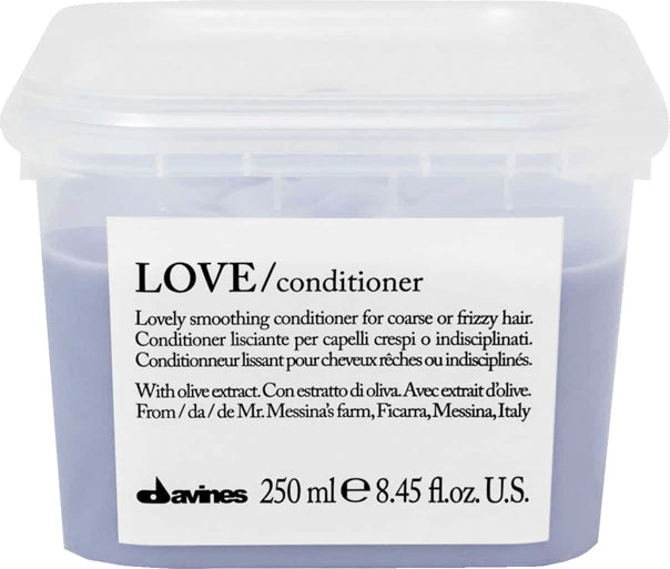 Davines Love Smoothing Conditioner Coarse Frizzy Hair