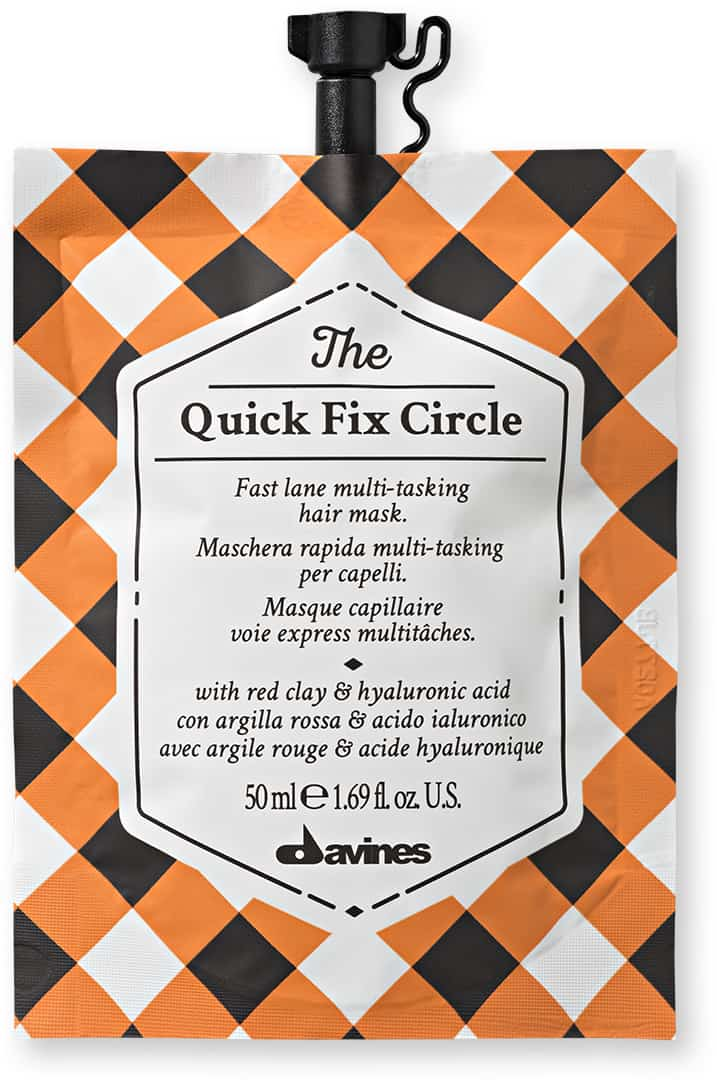 Quick Fix Circle Hair and Scalp Mask Fabric Hair Care