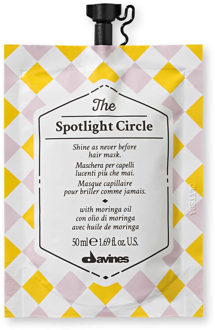 The Spotlight Circle Shine Hair Mask Fabric Hair Care