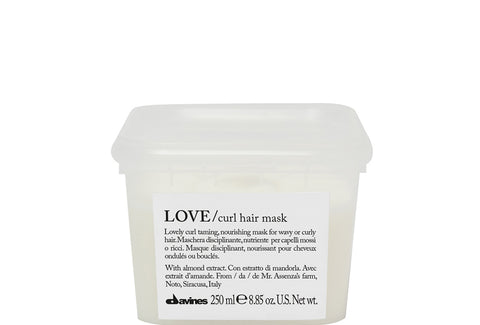Davines Love Curl Taming Hair Mask Fabric Hair