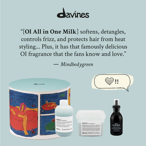 HOLIDAY DAVINES MINU + OI SET