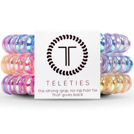 Teleties Eat Glitter Hair Ties Fabric Online Salon
