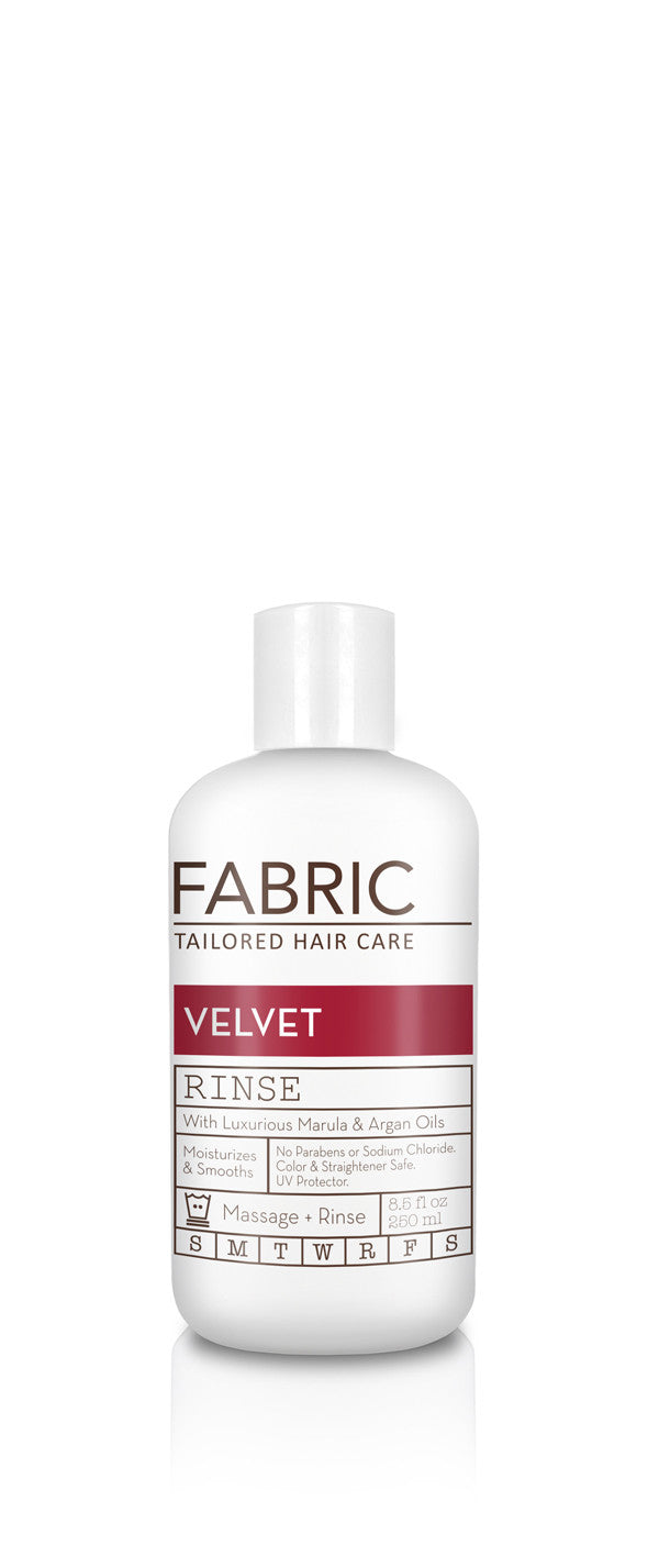 Salon Quality Hydrating Shampoo Fabric Hair Velvet Wash