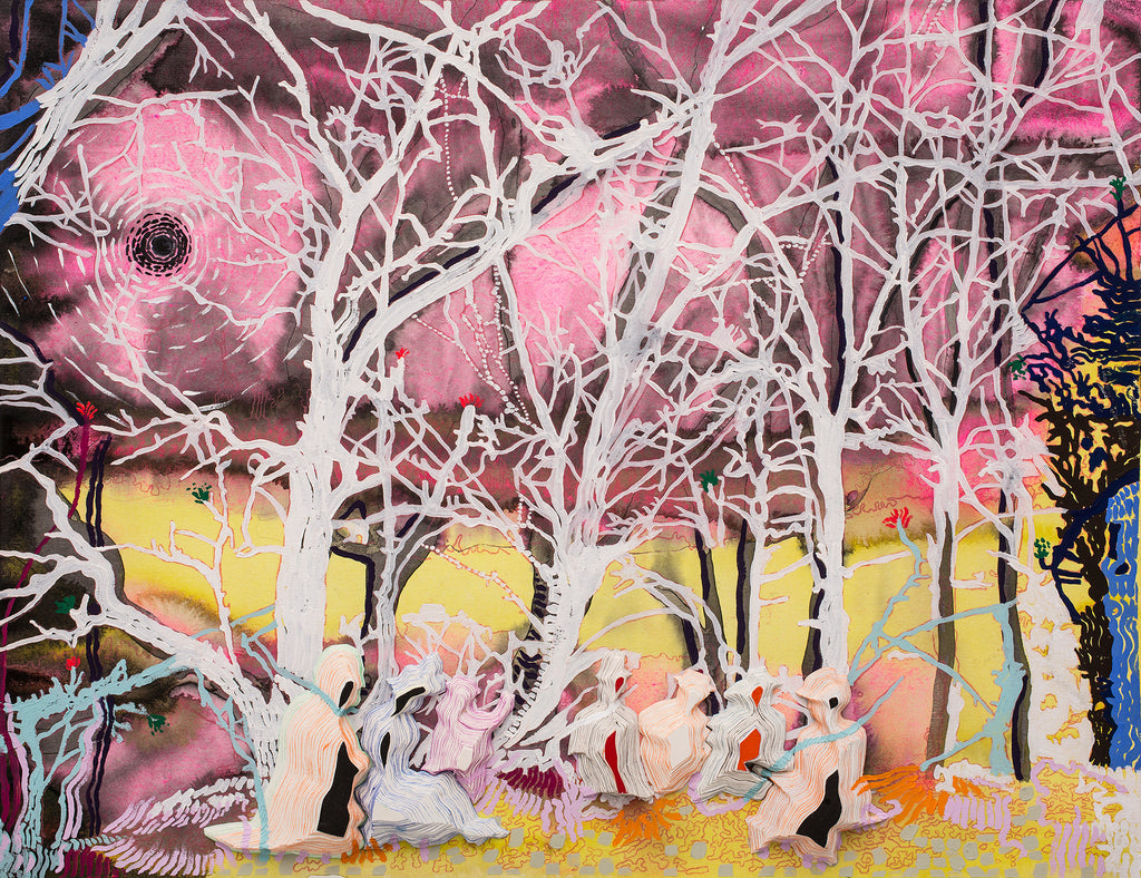 Anna Fidler, Picnic at Oak's Bottom, 2014