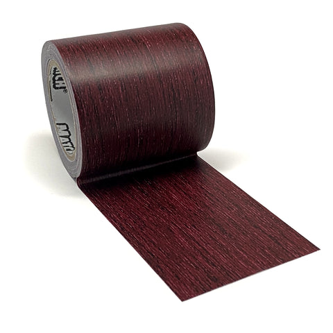 Dark Cherry Wood Print Repair Tape