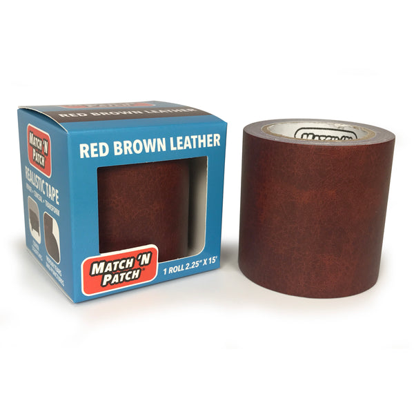 Red Brown Leather Repair Tape