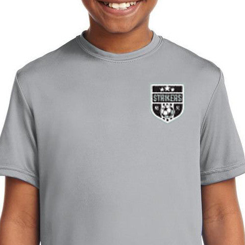 Gray Practice Shirt - Delivered by Team Manager
